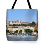 Budapest Cityscape Tote Bag