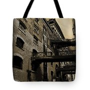 Butlers Wharf Art Tote Bag