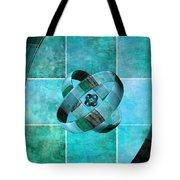 3 By 3 Ocean Rings Tote Bag