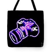 Camera Edited Tote Bag