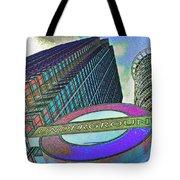 Canary Wharf London Art Tote Bag