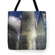 Canary Wharf Tower London Tote Bag