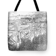 Cardiff Bay Tote Bag