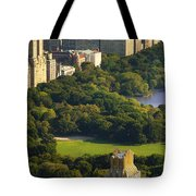 Central Park Tote Bag by Brian Jannsen