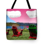 3 Chair Tote Bag