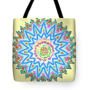 Colorful Signature Art Chakra Round Mandala By Navinjoshi At Fineartamerica.com Rare Fineart Images  Tote Bag by Navin Joshi