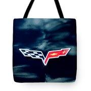 Chevrolet Corvette Emblem Tote Bag