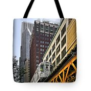 Chicago Loop 'l' Tote Bag