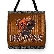 Cleveland Browns Tote Bag