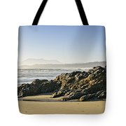 Coast Of Pacific Ocean On Vancouver Island Tote Bag