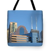 Colorful Chicago Tote Bag