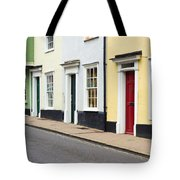 Colorful Houses Tote Bag