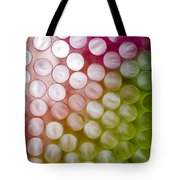 Colorful Straws Tote Bag
