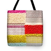Colorful Textile Tote Bag