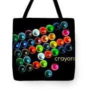 Colorful Wonderful Crayons Tote Bag