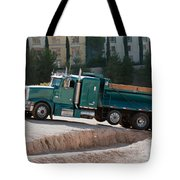 Construction Truck Tote Bag
