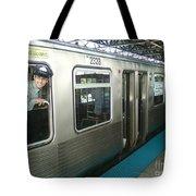 Cta's Retired 2200-series Railcar Tote Bag