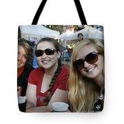 3 Cutie Amigas Tote Bag