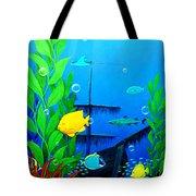 3-d Aquarium Tote Bag