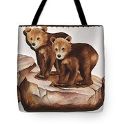 3-d Bearizona Bear Babies Tote Bag