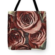 3 D Red Tote Bag