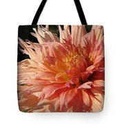Dahlia Named Intrepid Tote Bag