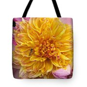 Dahlia Named Lambada Tote Bag