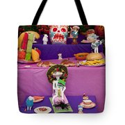 Day Of The Dead Remembrance, Mexico Tote Bag