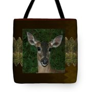 Deer Wild Animal Portrait For Wild Life Fan From Navinjoshi Costa Rica Collection Tote Bag