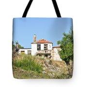 Derelict House Tote Bag