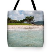 Deserted Beach At Vieux Fort Tote Bag