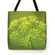 Yellow Dill Flower Tote Bag