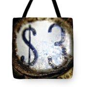 3 Dollars Tote Bag