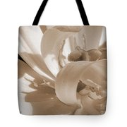 Double Late Tulip Named Angelique Tote Bag