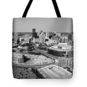 Downtown Skyline Of St. Paul Minnesota Tote Bag