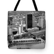 Downtown Skyline Of Toledo Ohio Tote Bag
