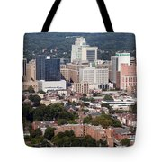Downtown Skyline Of Wilmington Tote Bag