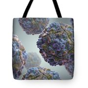 Echo Virus Tote Bag