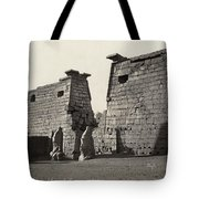 Egypt Luxor Temple Tote Bag