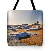 Egytians White Desert Tote Bag