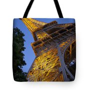 Eiffel Twilight Tote Bag
