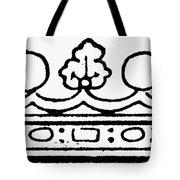 English Crown Tote Bag