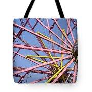 Evergreen State Fair Ferris Wheel Tote Bag