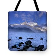 Exploration Of Ice Caves And Moulins Tote Bag