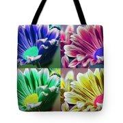 Firmenish Bicolor Pop Art Shades Tote Bag