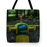 Forgotten Playground Tote Bag