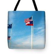 Fort Sumter, Sc Tote Bag
