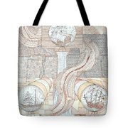 Fortune Of Ships Tote Bag