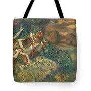 Four Dancers Tote Bag