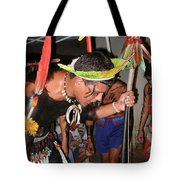 Fulnio Indians Of Brazil  Tote Bag